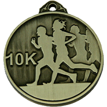 50mm 10K Running Medal